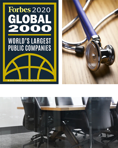 M3 Executive Search award: Forbes 2020 - Global 2000 World's Largest Public Companies